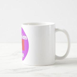 Albania Language And Flag Design Coffee Mug