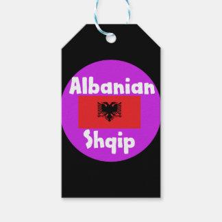 Albania Language And Flag Design Gift Tags