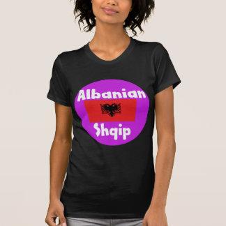 Albania Language And Flag Design T-Shirt