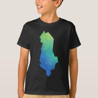 Albania Map T-Shirt