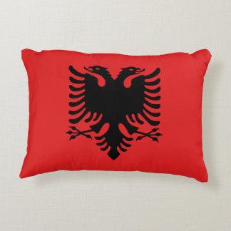 Albania National World Flag Decorative Pillow