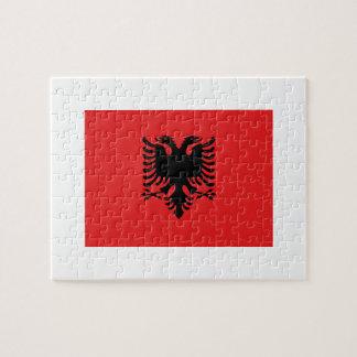 Albania National World Flag Puzzle
