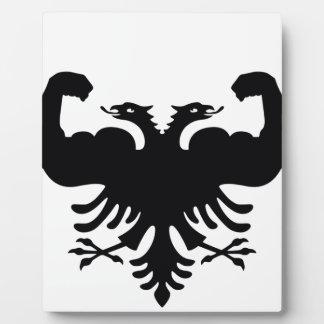 Albania Plaque