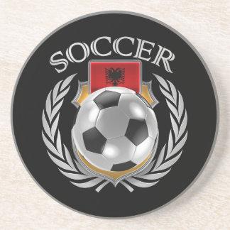 Albania Soccer 2016 Fan Gear Beverage Coasters
