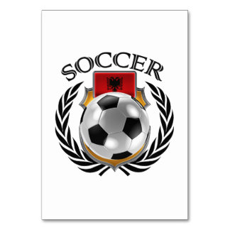 Albania Soccer 2016 Fan Gear Card