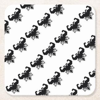 Albania Square Paper Coaster