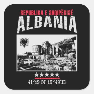 Albania Square Sticker