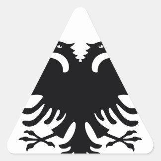Albania Triangle Sticker