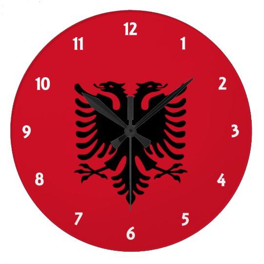 albania wallclock
