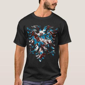 Albanian Blue New Urban Camo Eagle 3D T-Shirt