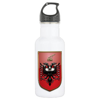 Albanian Coat of arms 532 Ml Water Bottle
