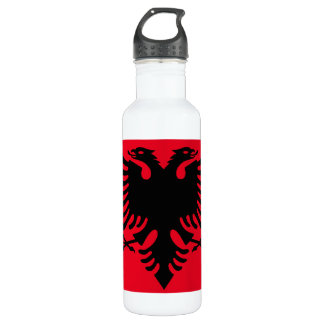 Albanian Coat of arms 710 Ml Water Bottle