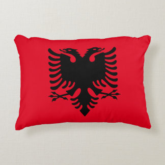 Albanian Coat of arms Accent Pillow