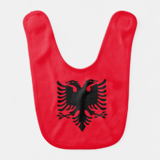 Albanian Coat of arms Baby Bibs