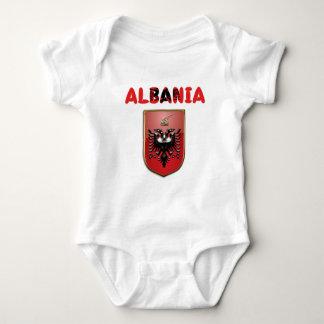 Albanian Coat of arms Baby Bodysuit