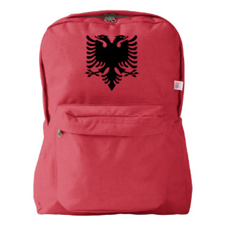 Albanian Coat of arms Backpack
