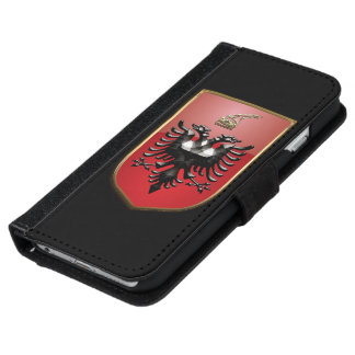 Albanian Coat of arms iPhone 6 Wallet Case