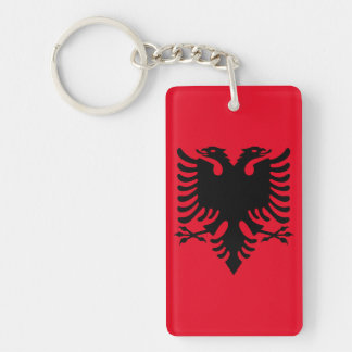 Albanian Coat of arms Keychain