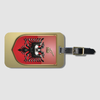 Albanian Coat of arms Luggage Tag