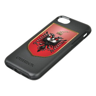 Albanian Coat of arms OtterBox Symmetry iPhone 8/7 Case