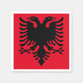 Albanian Coat of arms Paper Napkin