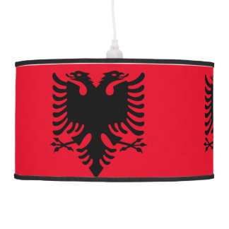 Albanian Coat of arms Pendant Lamp