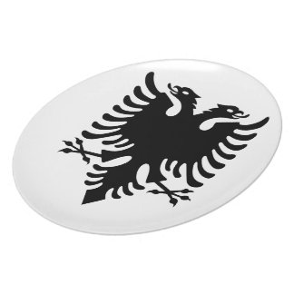 Albanian Coat of arms Plate