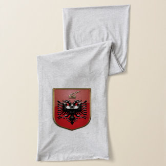 Albanian Coat of arms Scarf