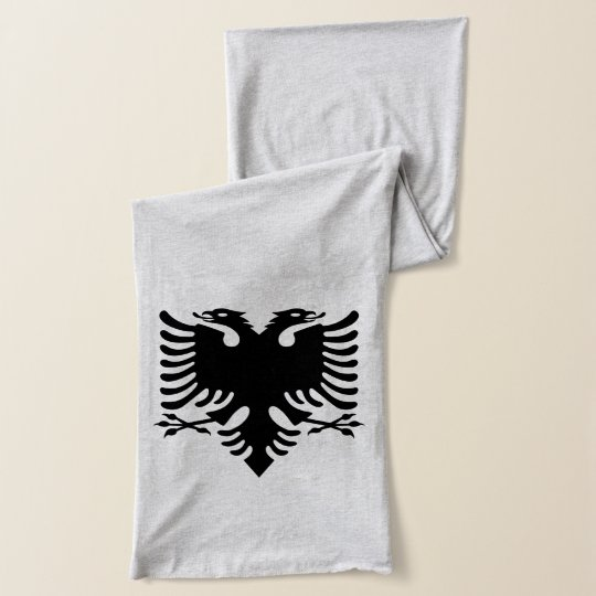 Albanian Coat of arms Scarf Wrap