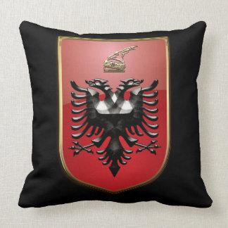 Albanian Coat of arms Throw Pillow