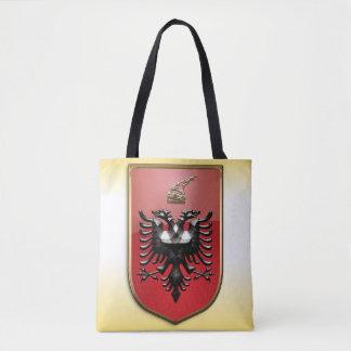 Albanian Coat of arms Tote Bag
