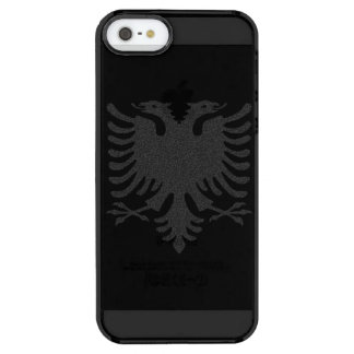Albanian Eagle Clear iPhone SE/5/5s Case