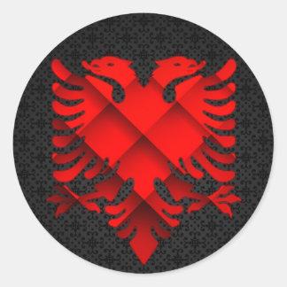 Albanian Eagle Sticker