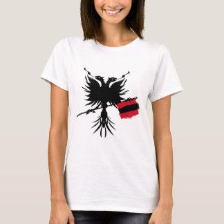 Albanian Eagle with Flag - Ladies Spaghetti Top