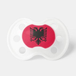 Albanian Flag Pacifier