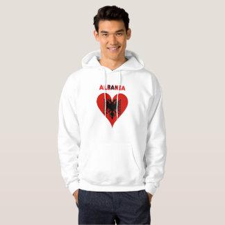 Albanian heart hoodie