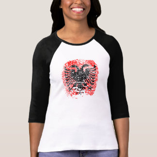 Albanian Identity - Shirt Woman - Black - Long Sl.