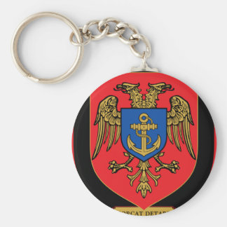 Albanian Naval Forces - Forcat Detare Basic Round Button Keychain