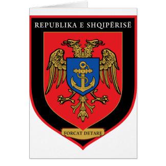 Albanian Naval Forces - Forcat Detare Card