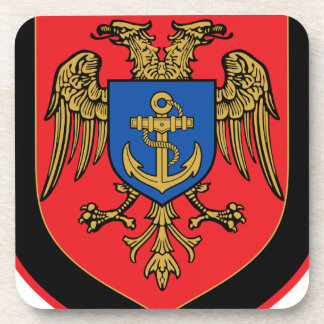 Albanian Naval Forces - Forcat Detare Drink Coasters