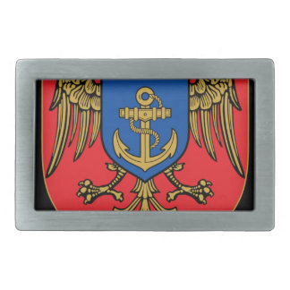 Albanian Naval Forces - Forcat Detare Rectangular Belt Buckles