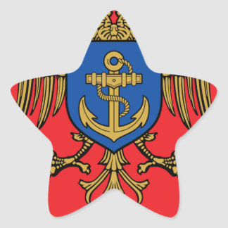 Albanian Naval Forces - Forcat Detare Star Sticker
