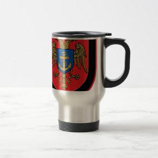 Albanian Naval Forces - Forcat Detare Travel Mug