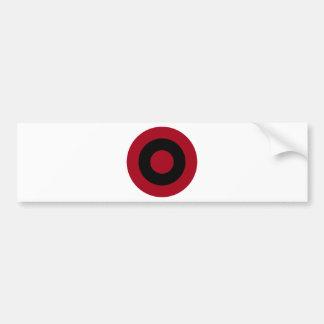 Albanian Roundel Bumper Sticker