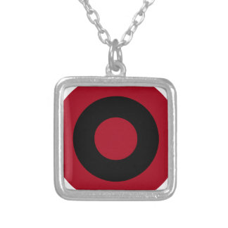 Albanian Roundel Silver Plated Necklace