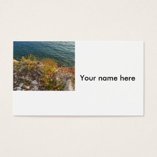 Albanian Seaside business cards