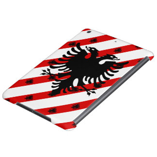 Albanian stripes flag iPad air case