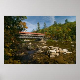 Albany Covered Bridge, NH  Print