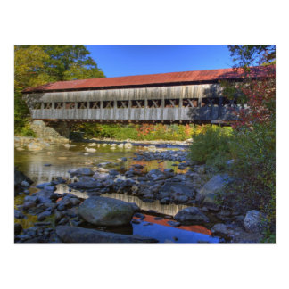 Albany covered bridge over Swift River, White Postcard