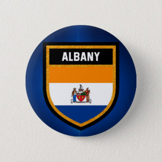 Albany Flag 2 Inch Round Button